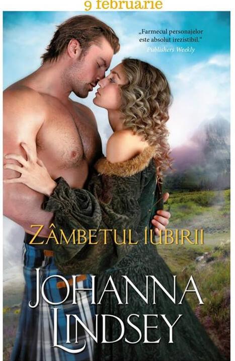 Zâmbetul iubirii - Joanna Lindsey - Colecţia Iubiri de poveste