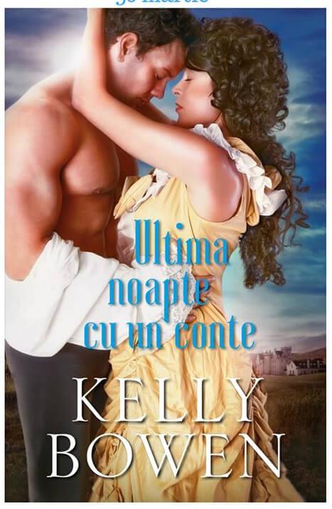 Ultima noapte cu un conte - Kelly Bowen