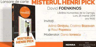 Misterul Henri Pick - David Foenkinos
