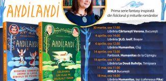 Scriitoarea Sînziana Popescu în turneu de promovare