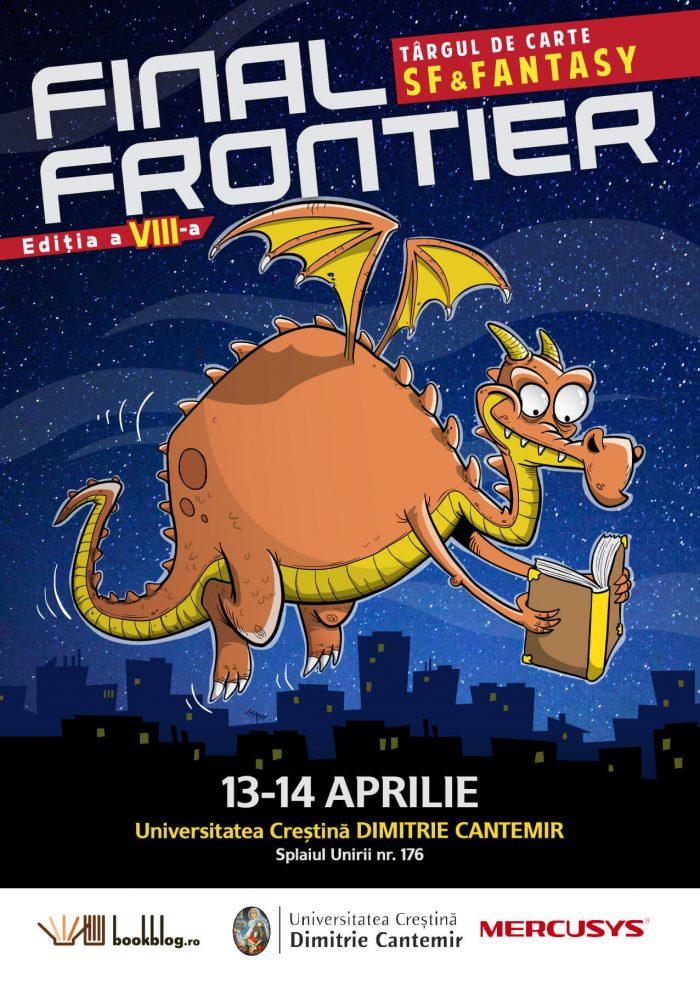Toți #DragoniiDeBibliotecă sunt așteptați la Final Frontier