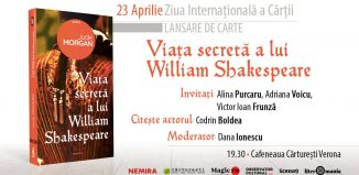 Viața secretă a lui William Shakespeare - Jude Morgan - lansare de Ziua Cărții