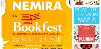 Nemira și Nemi la Bookfest 2019 – noutăți editoriale și scriitori invitați