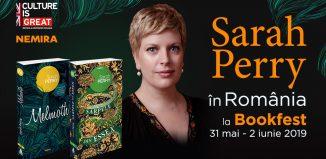Scriitoarea Sarah Perry vine la Salonul Internațional de carte Bookfest 2019