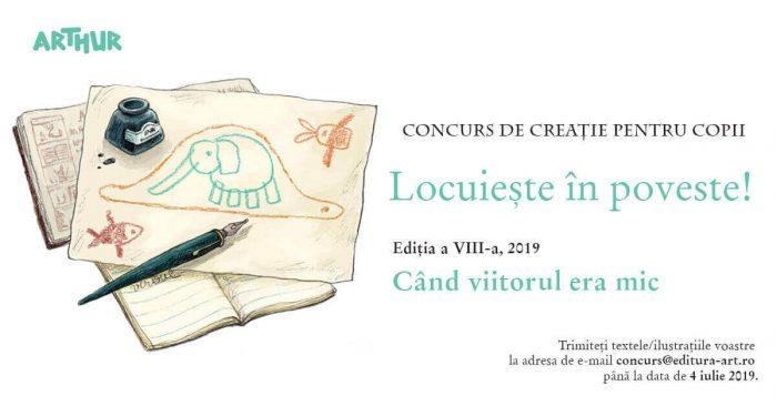 Locuiește în poveste - Concurs creație Editura Arthur
