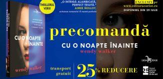 Cu o noapte înainte - Wendy Walker - Editura Corint - prezentare