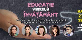 Educație versus Învățământ - Te aşteptăm în librărie!
