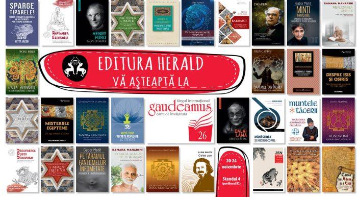 Editura Herald - Târgul de carte Gaudeamus Radio România 2019