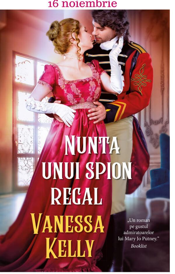 Nunta unui spion regal de Vanessa Kelly