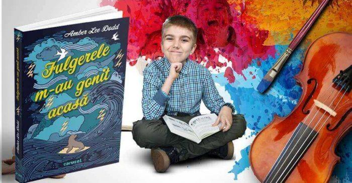 Fulgerele m-au gonit acasă - Amber Lee Dodd - lansare de carte