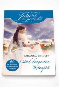 Când dragostea așteaptă - Johanna Lindsey - Top 10 cărți citite în ultima parte a anului 2019