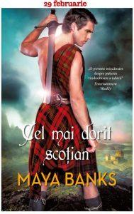 Cel mai dorit scoțian de Maya Banks - Top cărți historical romance cu scoțieni