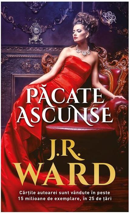 Păcate ascunse de J.R. Ward - Colecția Cărți Romantice martie 2020