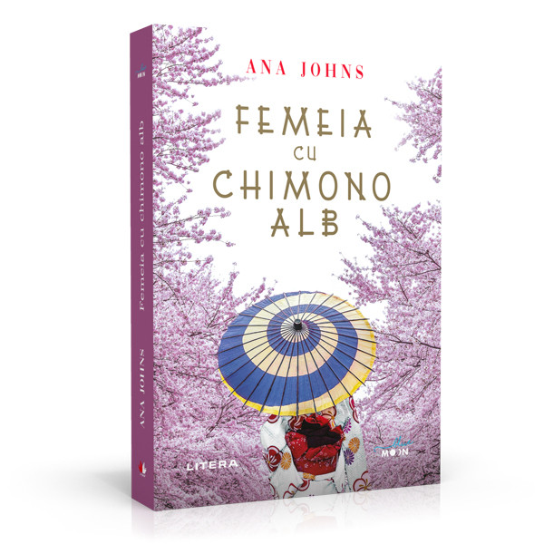 Femeia în chimono alb de Ana Johns