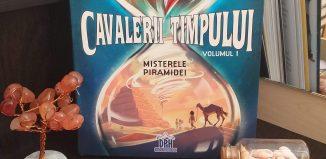 Cavalerii Timpului, vol.1- Misterele Piramidei de S.Grimler, H.Duchateau, C.Roger