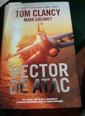 Vector de atac de Tom Clancy și Mark Greaney