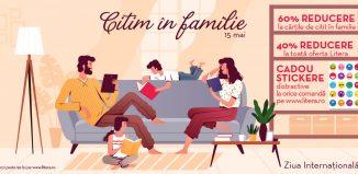 Pe 15 mai citim în familie - invitație la eveniment online