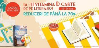 Hai pe litera.ro să-ți iei Vitamina D carte