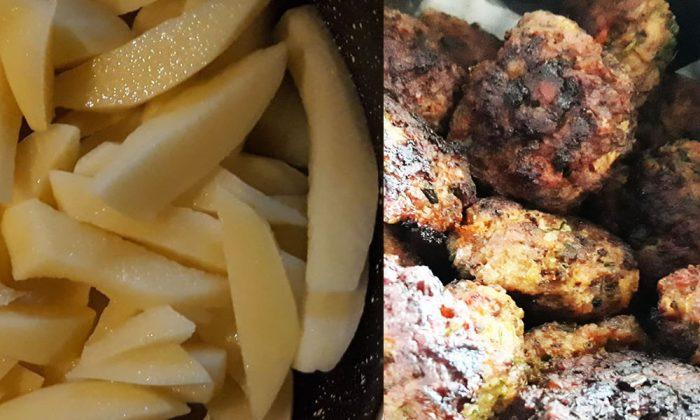 Chifteluțe moldovenești și povestea cartofilor prăjiți online