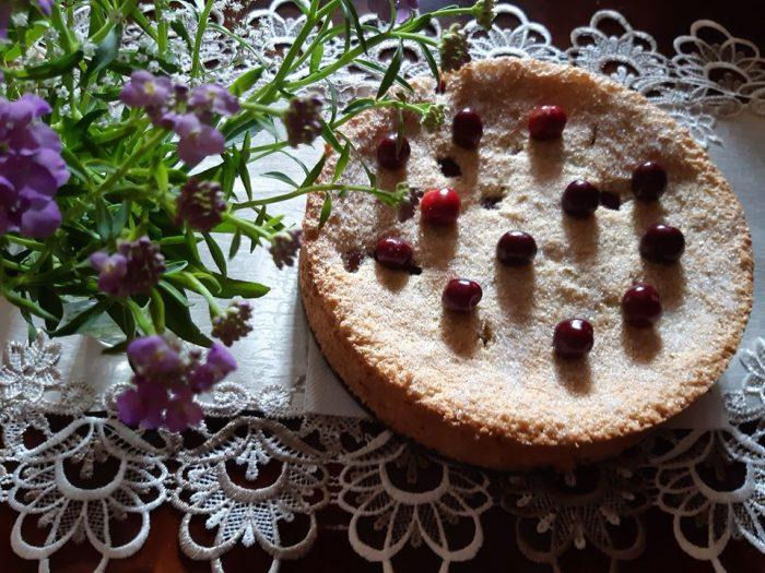 Bruschete cu salată de pui - Friptură de vită - Pișcot cu vișine