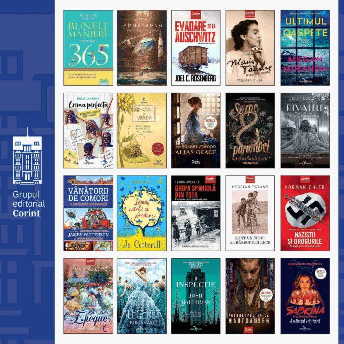 TOP 20 cele mai citite cărți în 2020, de la Editura Corint