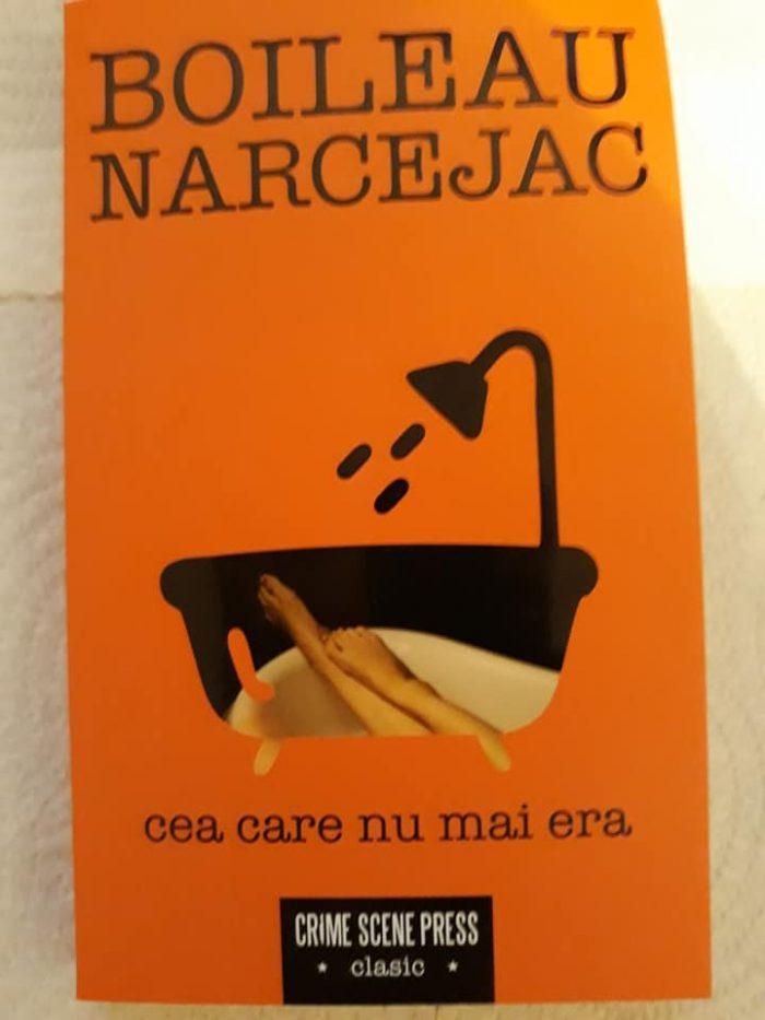 Cea care nu mai era de Boileau Narcejac - Crime Scene Press - recenzie