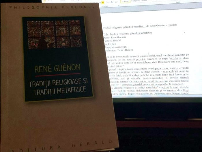 Tradiții religioase și tradiții metafizice de Rene Guenon
