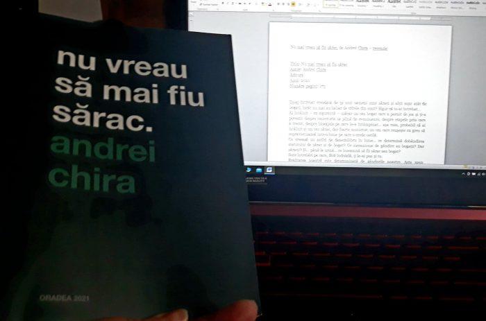 Nu mai vreau să fiu sărac de Andrei Chira – recenzie