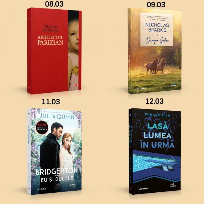 Titluri din colecțiile Carte Pentru Toți, Blue Moon, Moon Light și Buzz Books: 08.03 - 12.03 - 2021