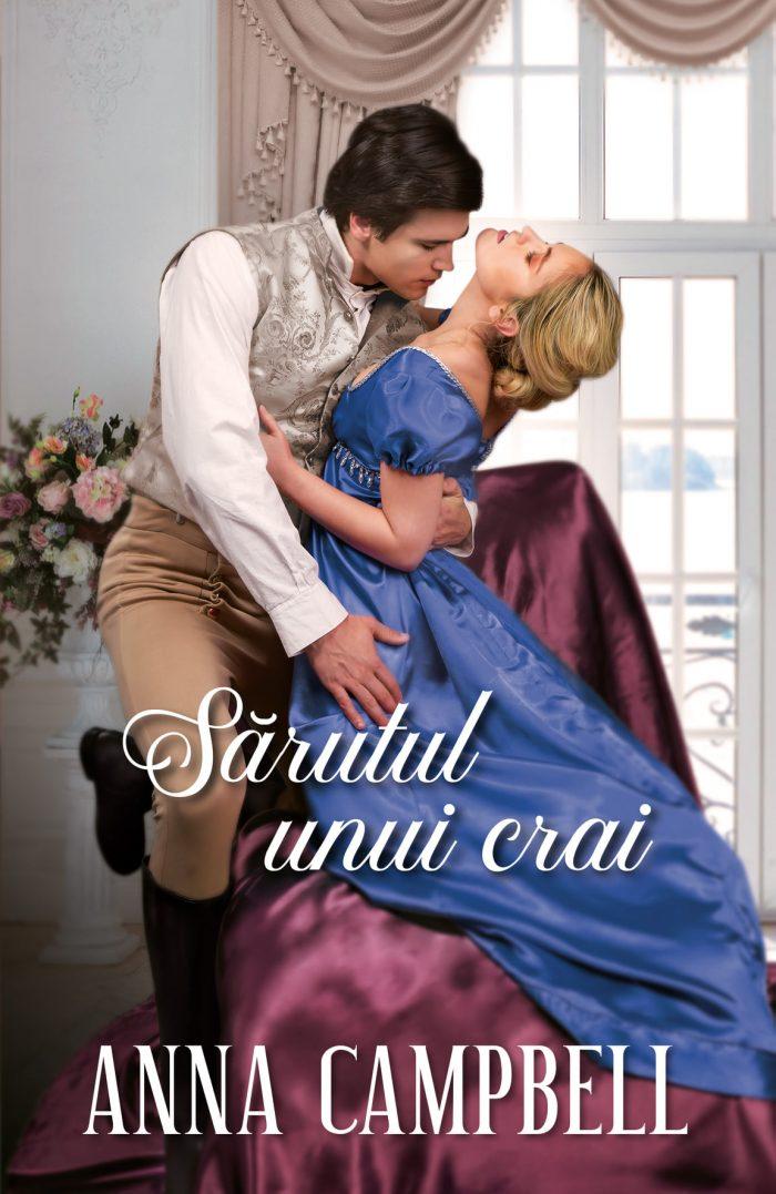 Sărutul unui crai de Anna Campbell - Colecția Iubiri de poveste aprilie 2021
