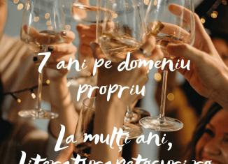 7 ani pe domeniu propriu - La mulți ani, Literaturapetocuri.ro
