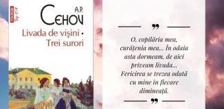 Livada de vișini - A.P. Cehov - recenzie carte