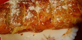 Omletă de cartofi - Ciorbă de ștevie - Ciuperci pane - Ștrudel cu brânză