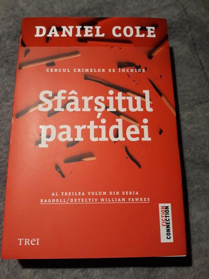 Sfârșitul partidei de Daniel Cole - Editura Trei - recenzie