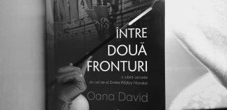 Între două fronturi de Oana David - Editura Hyperliteratura - recenzie