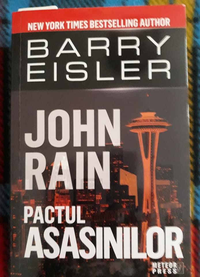 Pactul asasinilor de Barry Eisler - Editura Meteor Press - recenzie