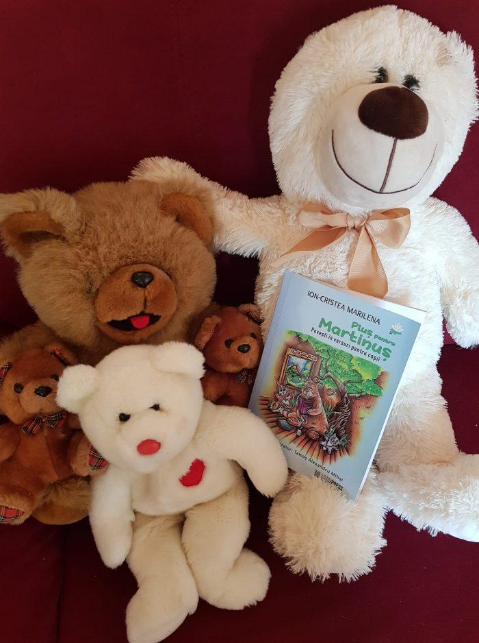 Pluș pentru Martinuș de Ion Cristea Marilena - Literpress Publishing - Povești în versuri pentru copii - recenzie