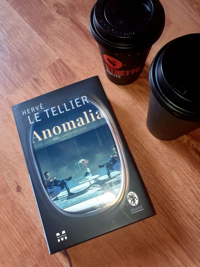 Anomalia - Hervé Le Tellier - Editura PandoraM - recenzie