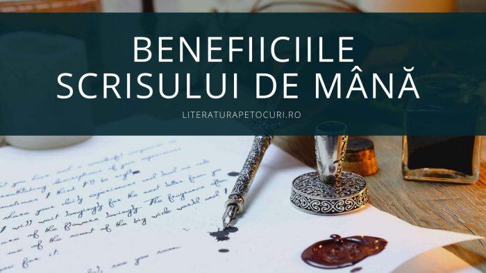 Beneficiile scrisului de mână