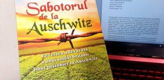 Sabotorul de la Auschwitz de Colin Rushton - Editura FOR YOU - recenzie