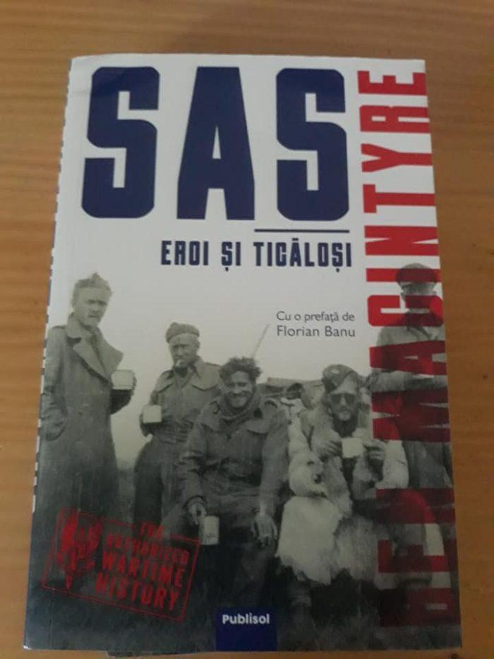 SAS: Eroi și ticăloși de Ben Macintyre - Publisol - recenzie