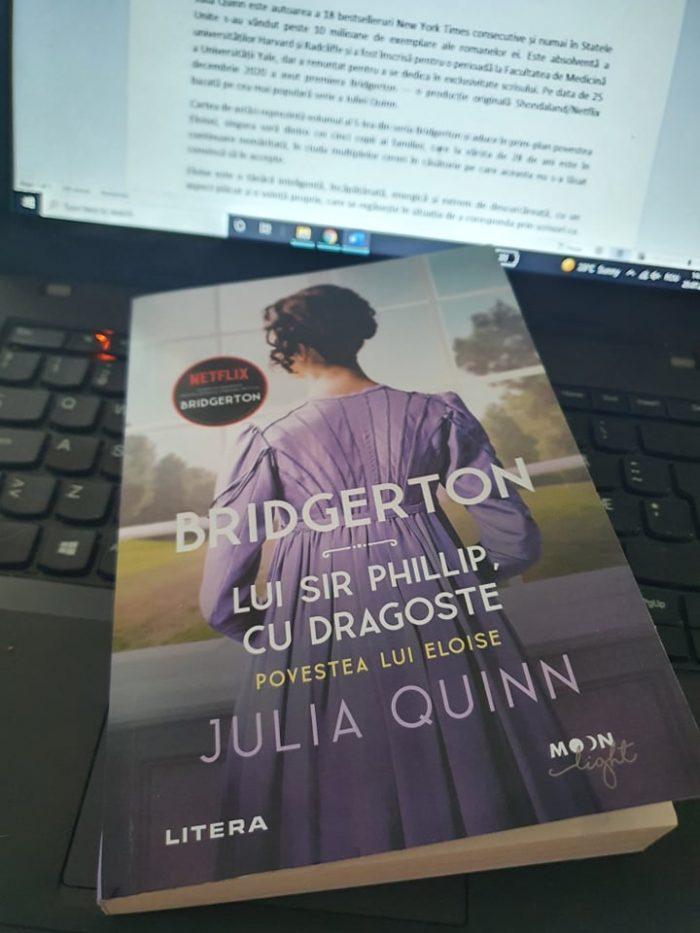 Bridgerton - Lui Sir Phillip, cu dragoste de Julia Quinn - Litera - recenzie