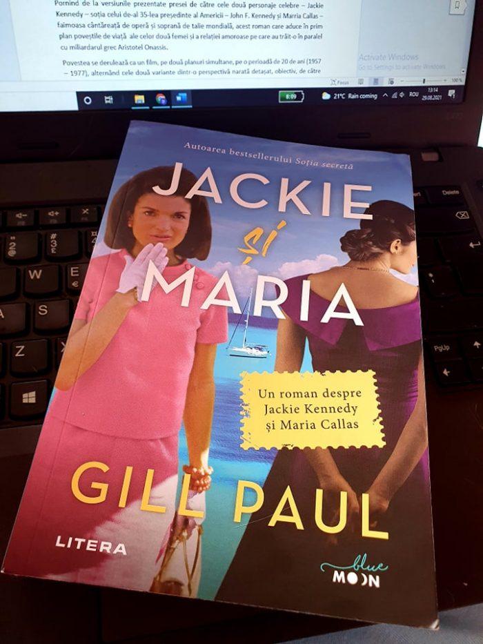 Jackie și Maria de Gill Paul - Editura Litera - recenzie