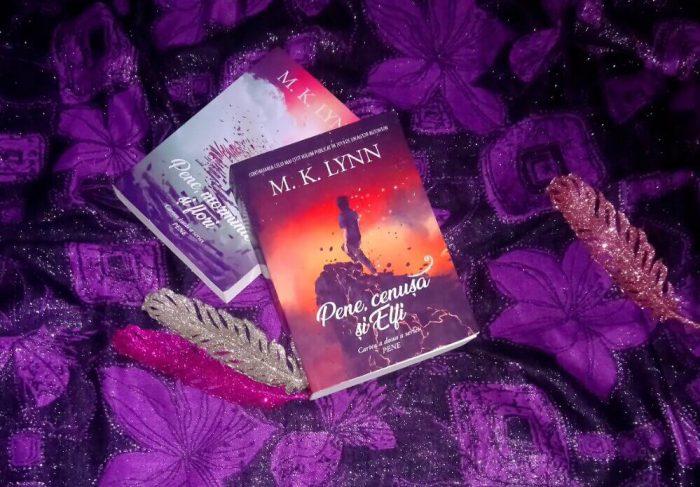 Pene, cenușă și Elfi – M. K. Lynn – Editura Petale Scrise - recenzie