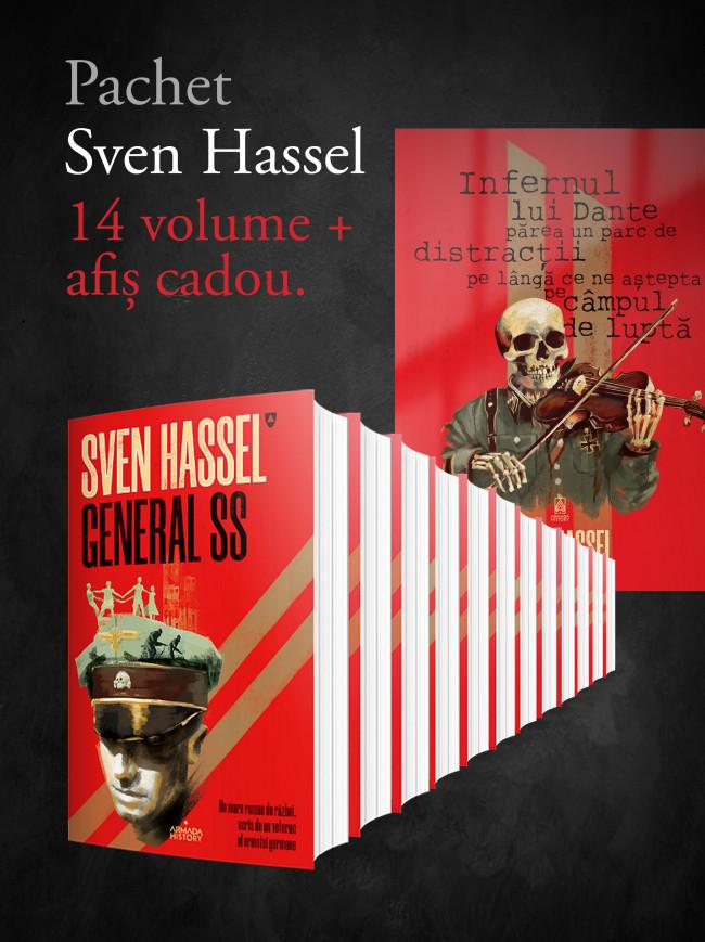 Imperiul iadului - Moarte și viscol - Drum sângeros către moarte - Curtea Marțială - Închisoarea O.G.P.U.– Comisarul de Sven Hassel - Nemira - recenzie