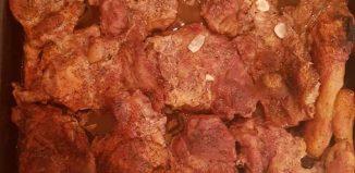 Supă de midii - Friptură la cuptor - Coșulețe cu iaurt